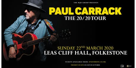 Paul Carrack (Leas Cliff Hall, Folkestone) tickets