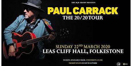 Paul Carrack (Leas Cliff Hall, Folkestone) tickets