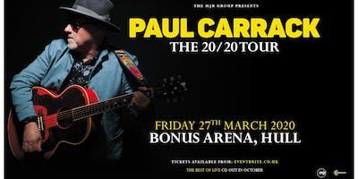 Paul Carrack (Bonus Arena, Hull)