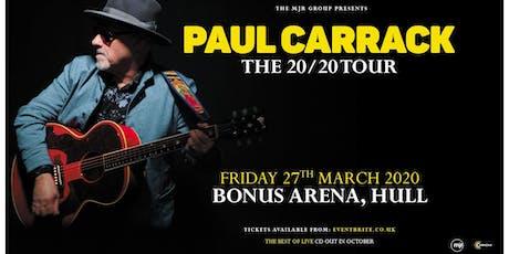 Paul Carrack (Bonus Arena, Hull) tickets