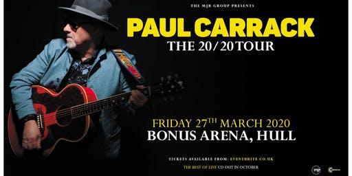 Paul Carrack (Bonus Arena, Hull)