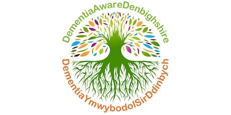 Mapio Cymunedau mewn digwyddiad arddull Caffi Cymunedol Sir Ddinbych – Dementia Ymwybodol / Denbighshire Community Café Style – Dementia Aware Event tickets