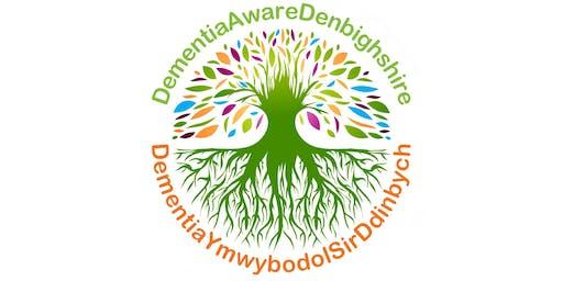 Mapio Cymunedau mewn digwyddiad arddull Caffi Cymunedol Sir Ddinbych – Dementia Ymwybodol / Denbighshire Community Café Style – Dementia Aware Event