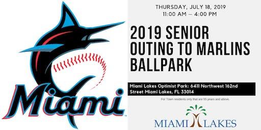 2019 Senior Outing to Marlins Ballpark July 18, 2019