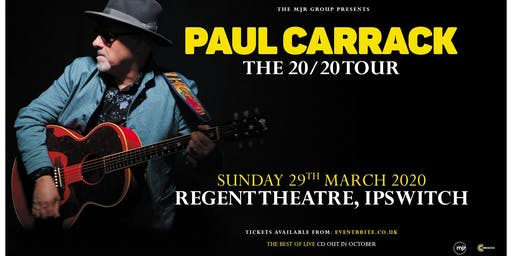 Paul Carrack (Regent Theatre, Ipswich)