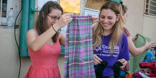 Sorting Clothes for Donations - מיון בגדים לתרומה