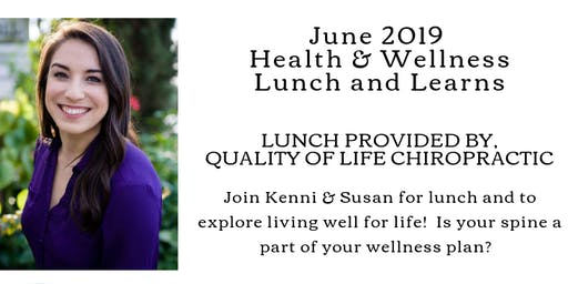 June Lunch & Learns!