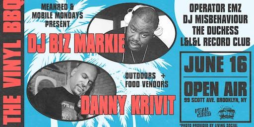 Vinyl BBQ - DJ Biz Markie, Danny Krivit, Operator Emz & more