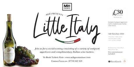 Antipasti Little Italy tickets