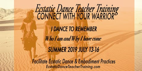 Ecstatic Dance Teacher Training tickets