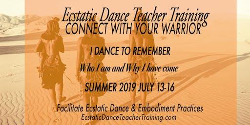 Ecstatic Dance Teacher Training