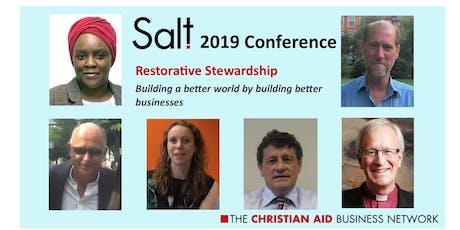 Salt Conference 2019:  Restorative Stewardship tickets