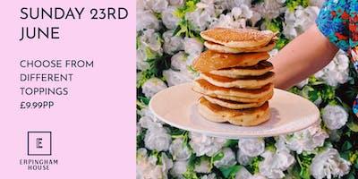 Bottomless Pancake Brunch Sunday 23rd June