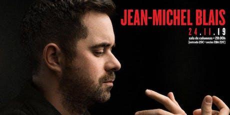 Jean-Michel Blais en Círculo de Bellas Artes entradas