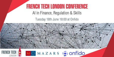 AI in Finance, Regulation and Skills tickets
