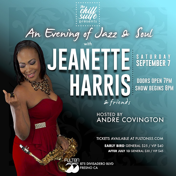 An Evening of Jazz & Soul  Featuring Jeanette Harris image
