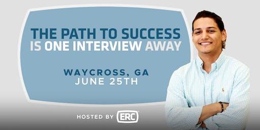 ERC Waycross Open Interviews 6/25