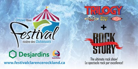 Hommage au rock CLARENCE-ROCKLAND Tribute to Rock billets