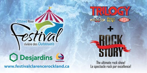 Hommage au rock CLARENCE-ROCKLAND Tribute to Rock