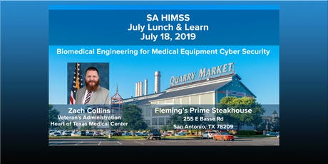 SAHIMSS July 2019 Lunch & Learn Event tickets