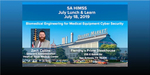 SAHIMSS July 2019 Lunch & Learn Event
