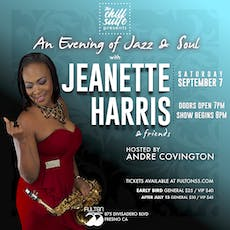 An Evening of Jazz & Soul  Featuring Jeanette Harris tickets