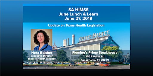 SAHIMSS June 2019 Lunch & Learn Event