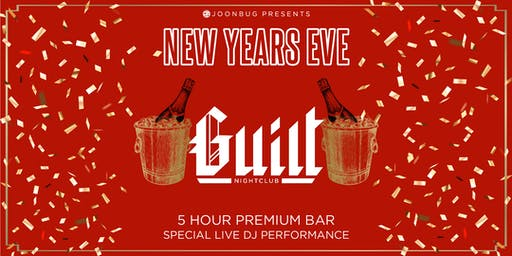 Joonbug.com Presents The Guilt New Years Eve Party 2020