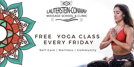 Therapeutic Yoga Class - Free tickets