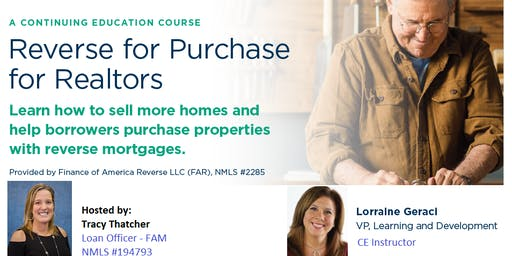 Reverse for Purchase - A Guide To Realtors