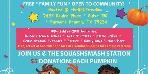 #SquashFEST2019: Fall Festival & Veterans Day Celebration