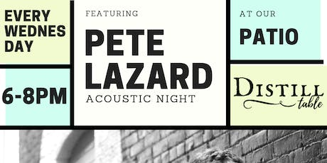 Live Acoustic Patio Wednesday's  tickets