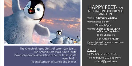 Happy Feet Dance & Dinner For Youths with Ds/ Disabilities (Ages 14-21yrs) tickets