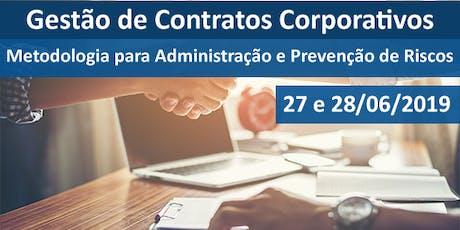 Gestão de Contratos Corporativos - Metodologia para Administração e Prevenção de Riscos ingressos