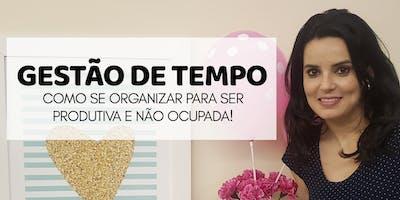 Workshop Online Gestão do Tempo
