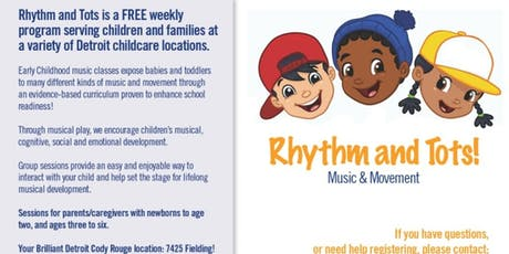 Rhythm and Tots tickets