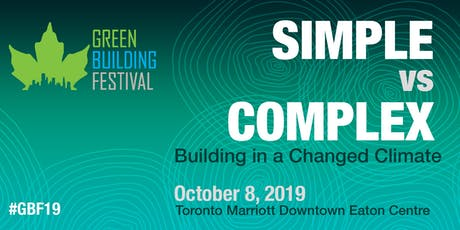 Green Building Festival 2019 tickets