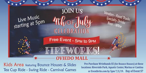 Oviedo Independence Day Celebration (7/4/19)