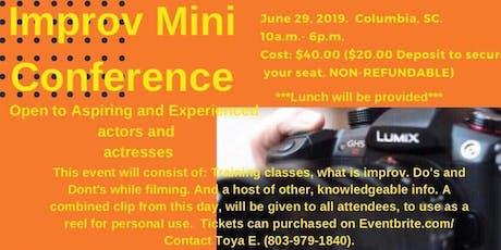 Improv Mini Conference tickets
