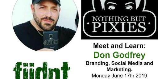 Don Godfrey from Fiidnt Marketing and Nothing but Pixies Instagram