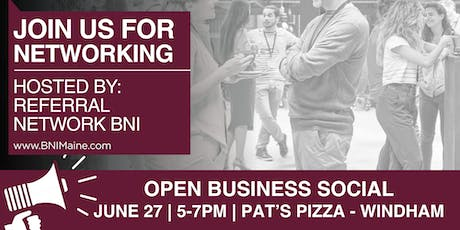 Open Business Social - Windham tickets