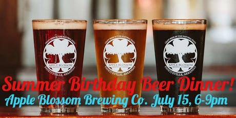Summer Birthday Beer Dinner!  tickets