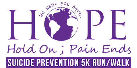 Hope 5k Suicide Prevention Run/Walk 2019 tickets