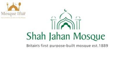 Shah jahan mosque - iftar