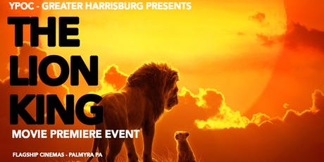 YPOC Movie Premiere: The Lion King tickets