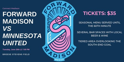 Connect Madison | Forward Madison vs Minnesota United