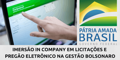 TREINAMENTO EM LICITAÇÕES COM CERTIFICADO - ON LINE - VIA SKYPE - ÁGUAS LINDAS