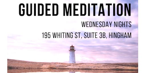 Guided Group Meditation - Wednesday Nights in Hingham (South Shore)