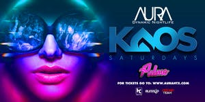 Aura KAOS Saturdays ft. Resident DJ Palmo |05.25.19|