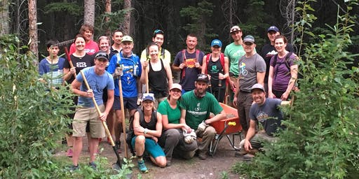 Strides/Canmore Trail Culture Trail Building with CAMBA